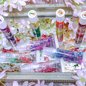 Real Flower & Flavored Lip Gloss
