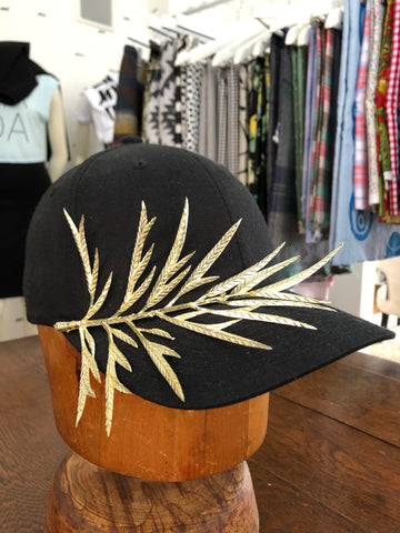 Gold Leaf Hat