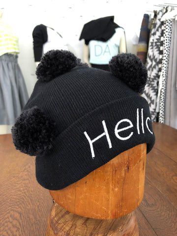 Hello Hat - ONE SIZE