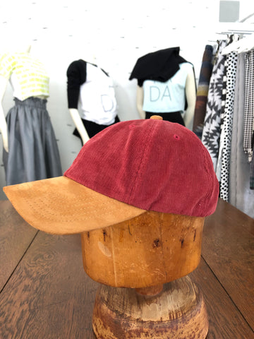 Red / Tan Hat - ONE SIZE