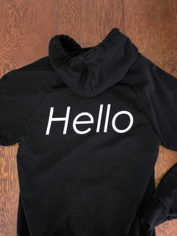 Hello Sweatshirt - XS - runs small