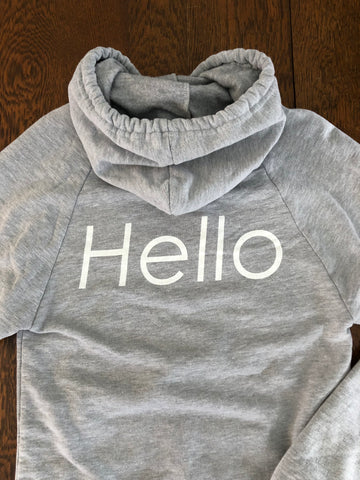 Hello Sweatshirt - XS