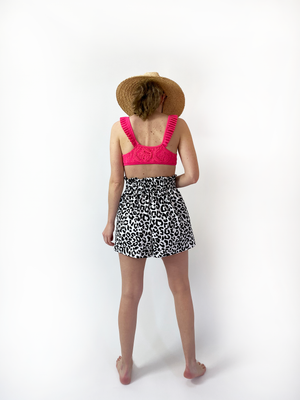 Scuba Split Skirt - In Stock