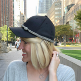Leather Braid Cap