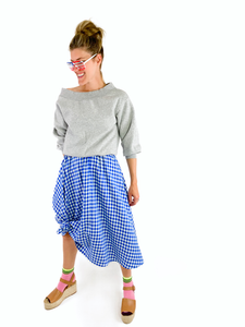 Blue Italian Midi - In Stock