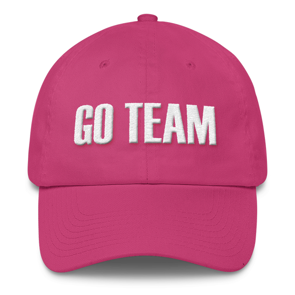 GO TEAM Dad Cap