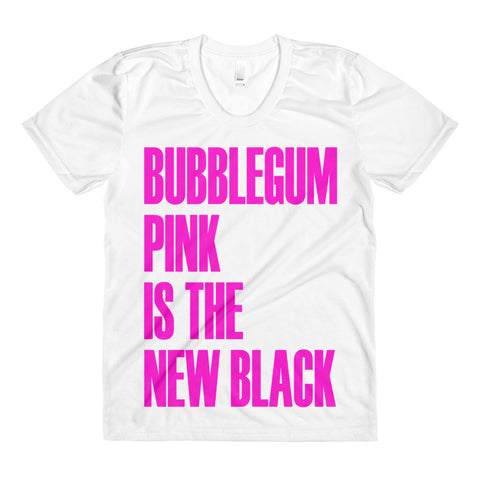 Bubblegum Pink Is The New Black