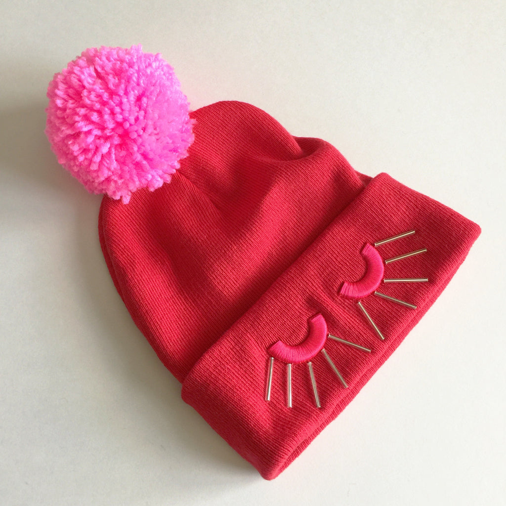 Snooze Stocking Cap - red