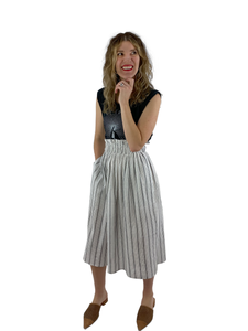 Bangladesh Striped Midi (Skirt)