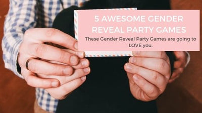 5 Awesome Gender Reveal Party Games
