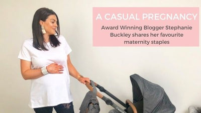 A Casual Pregnancy - Maternity Style Staples