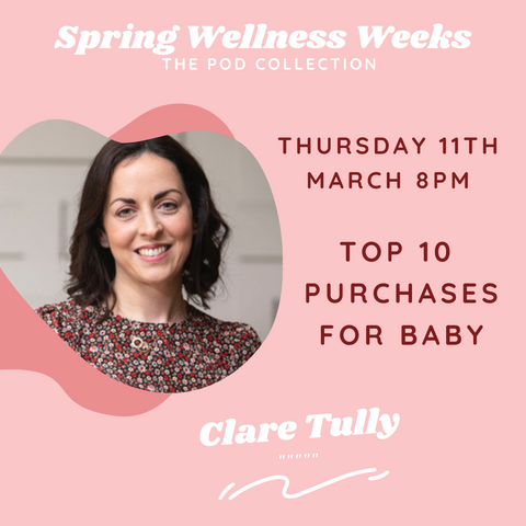Clare Tully wellness event the pod collection