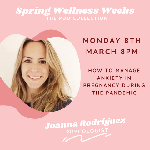 Joanna rodriguez wellness event the pod collection