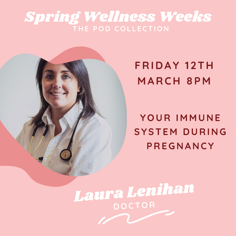 Laura Lenihan wellness event the pod collection