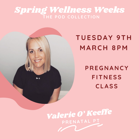 Valerie O Keeffe wellness event the pod collection