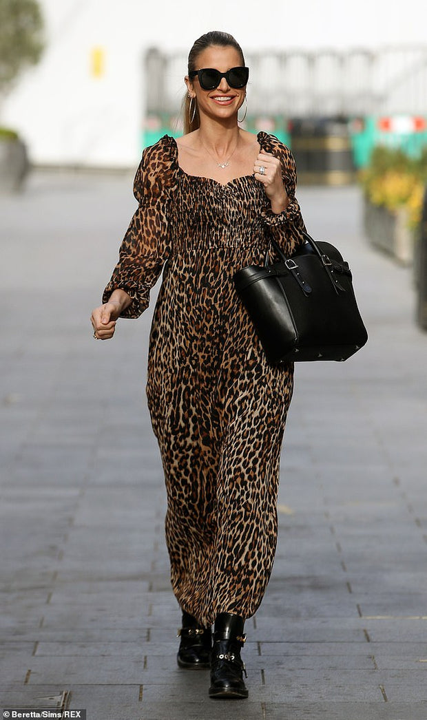 The Leopard Dress
