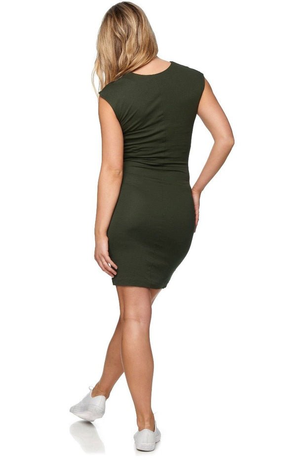 All Or Nothing Dress Green back The Pod Collection