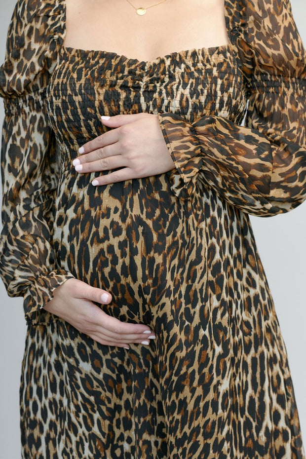 Leopard dress the pod collection 1