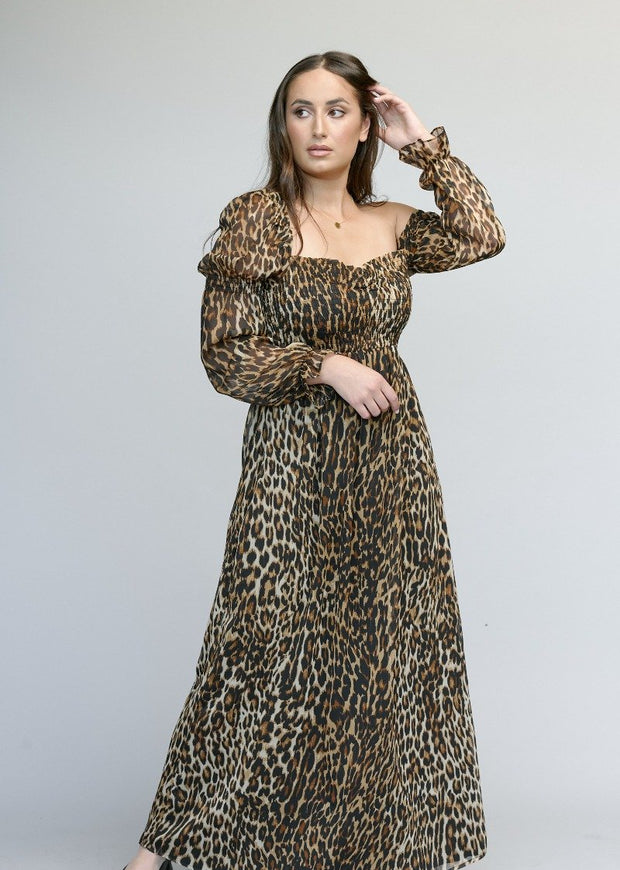Leopard dress the pod collection 2