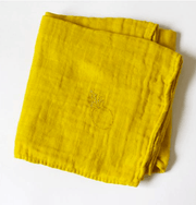 Muslin cloths Yellow the pod collection