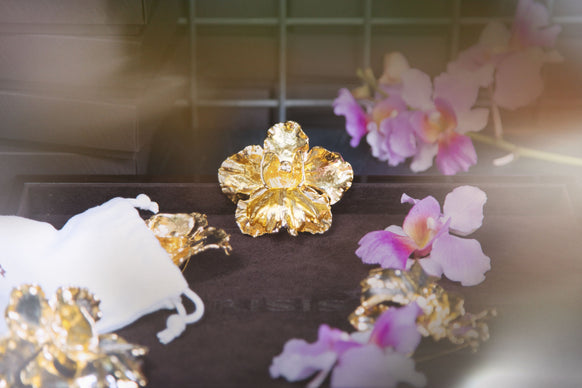 RISIS Natural Orchid Gold Plating Completion