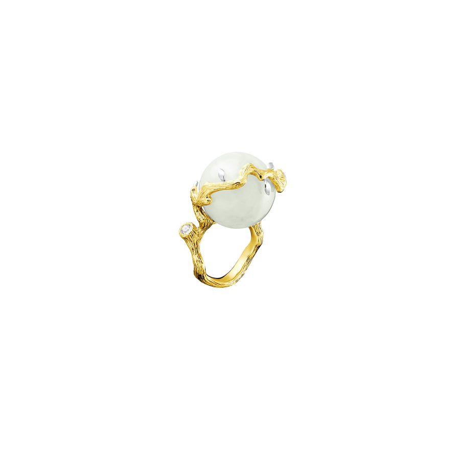 Banyan Vines Jade Ring