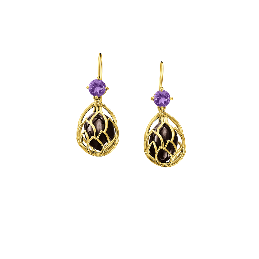 Lotus Seeds Earrings