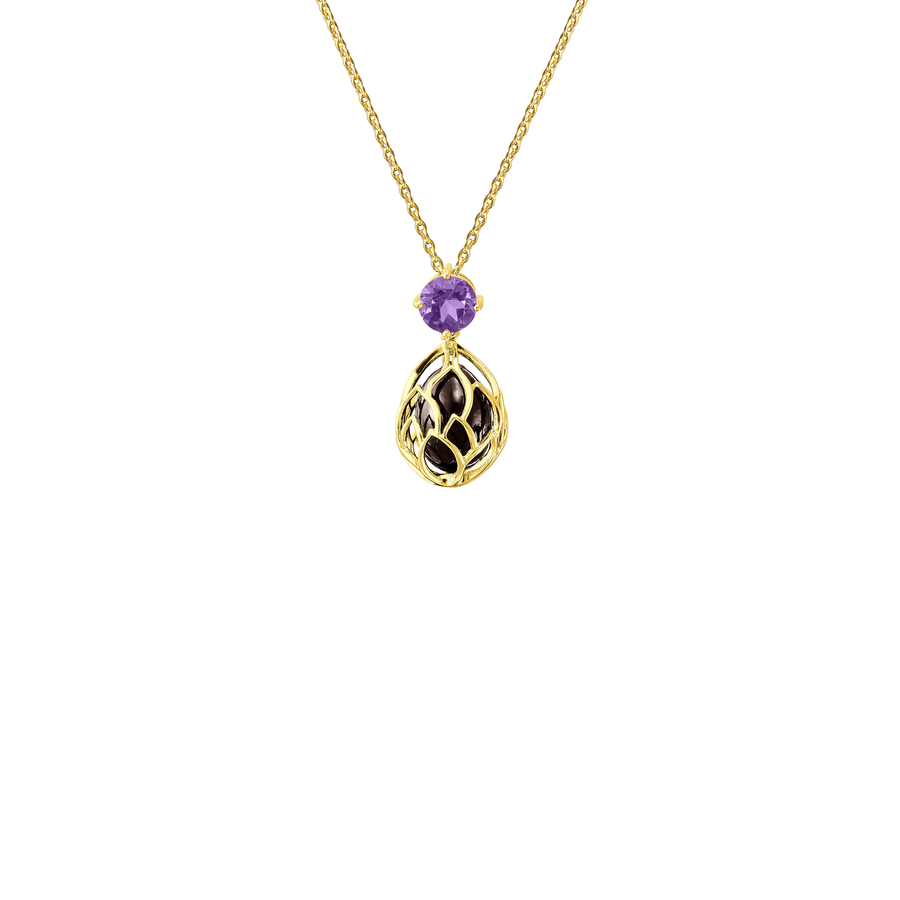 Lotus Seed Short Necklace