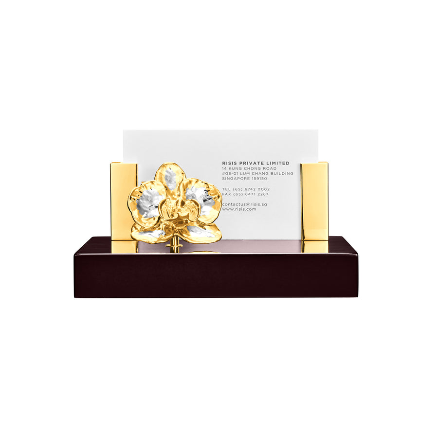 Phalaenopsis Orchid Card Holder