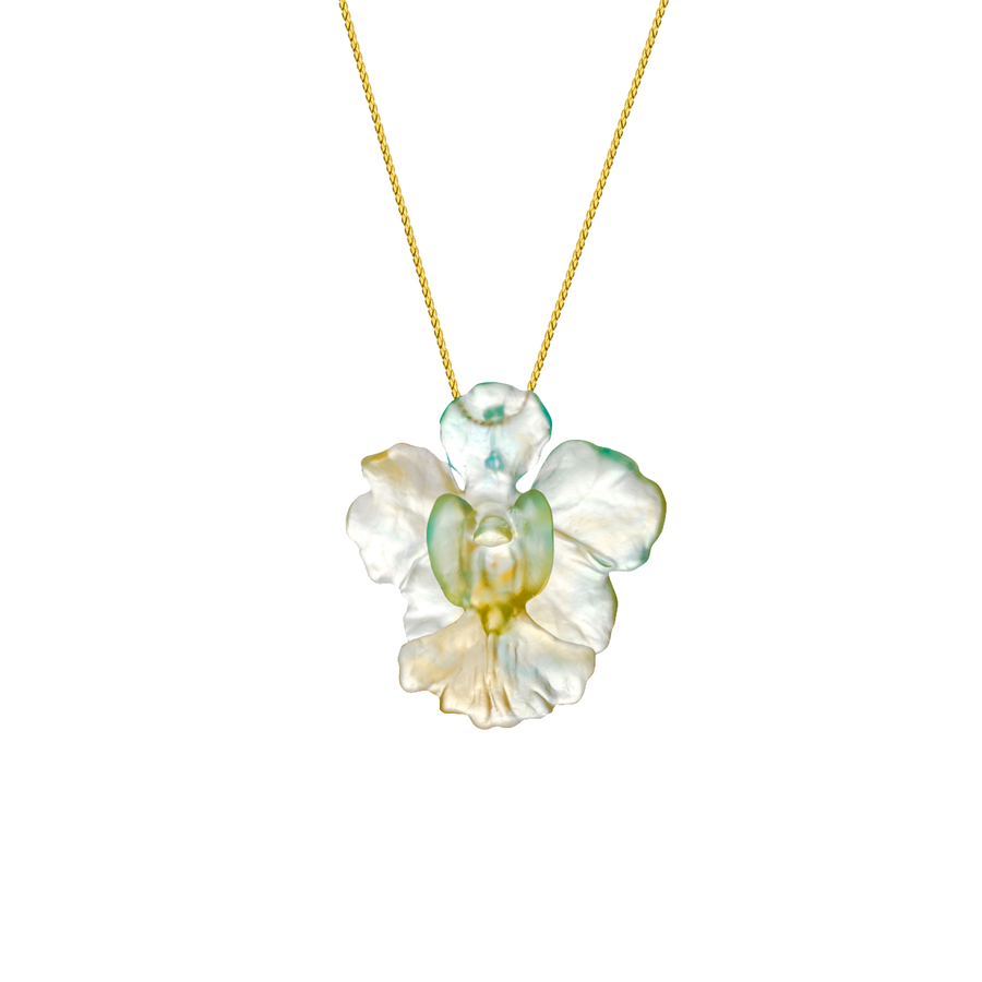 Emerald Green LiuLi Vanda Miss Joaquim Necklace