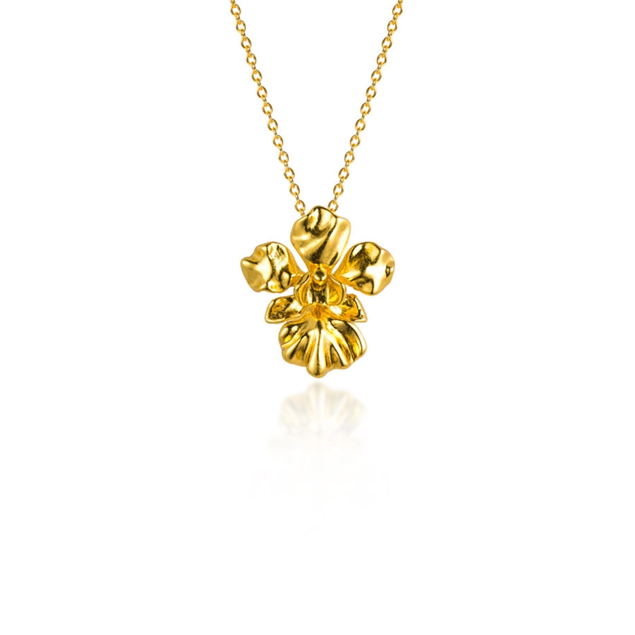 Vanda Miss Joaquim Orchid Necklace