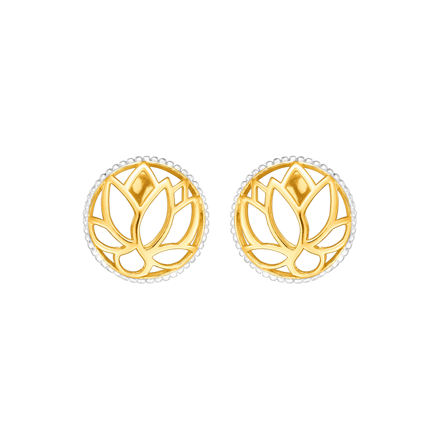 Lotus Bloom Earrings