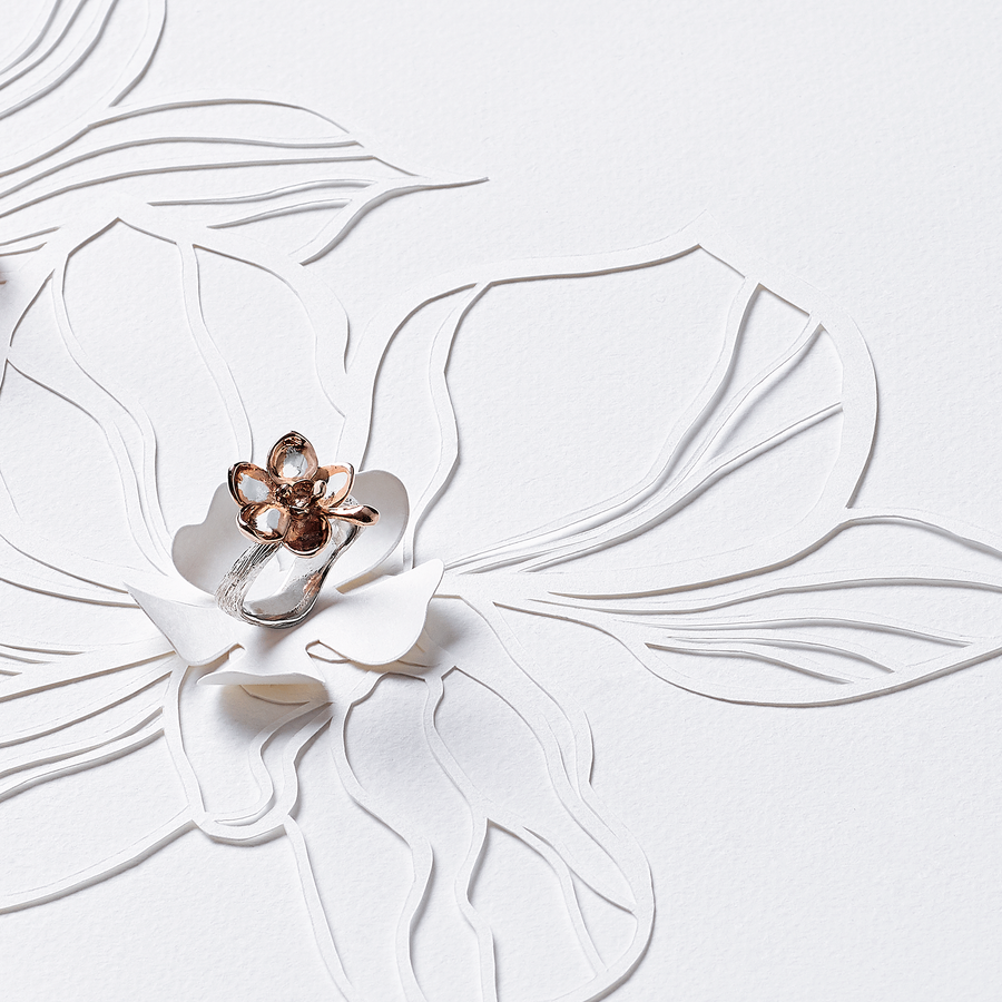 Orchid Bough Ring
