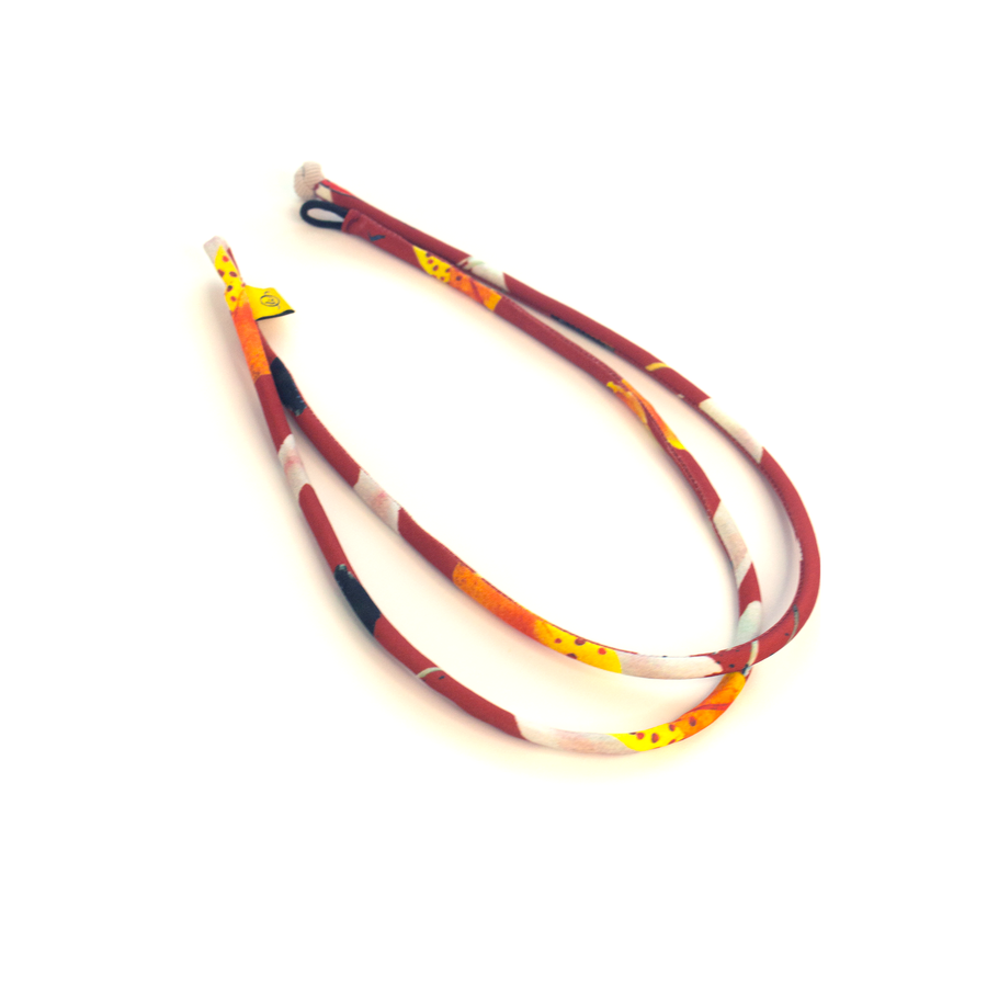 Re: loop necklace Crimson