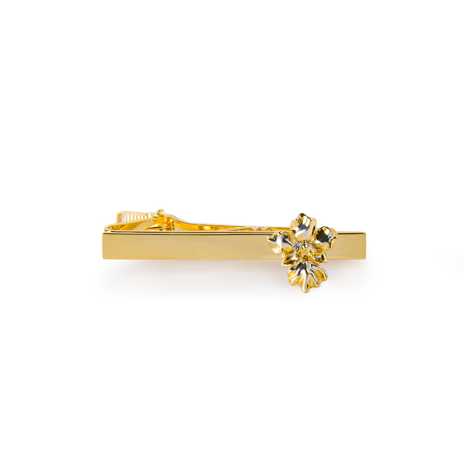 Single Vanda Miss Joaquim Orchid Tie Bar (AU)