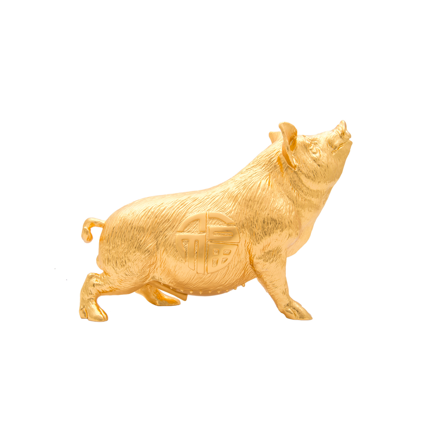 Zodiac Pig Sculpture