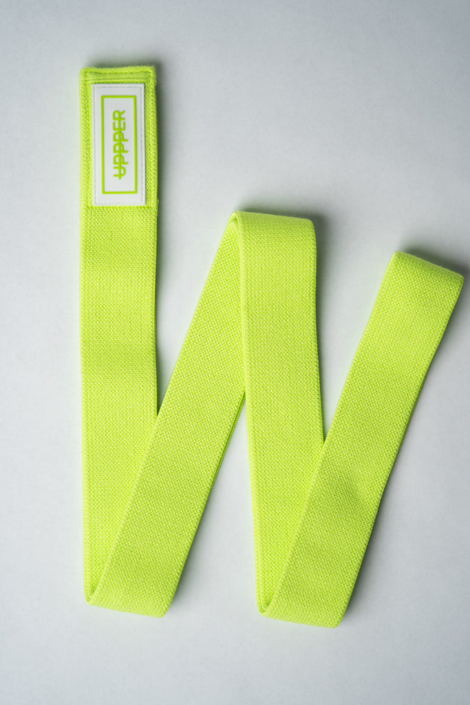 Long Resistance Band Neon Green (Light)
