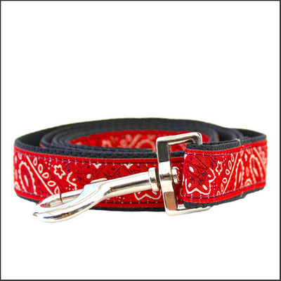 Bandana-Rama Dog Leash - pooche supplies