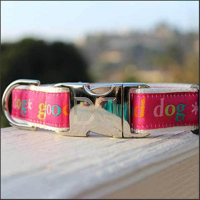 Good Dog Dog Collar - pooche supplies