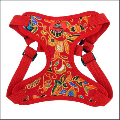 No Choke Easy Fit Dog Harness – Vivid Designer Print Colours - pooche supplies