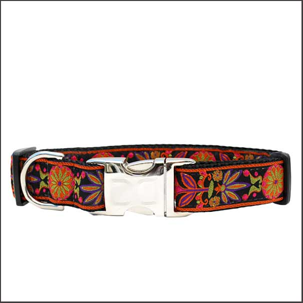 Venice Ink Dog Collar - pooche supplies