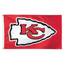 Load image into Gallery viewer, Kansas City Chiefs Polyester Team Flag