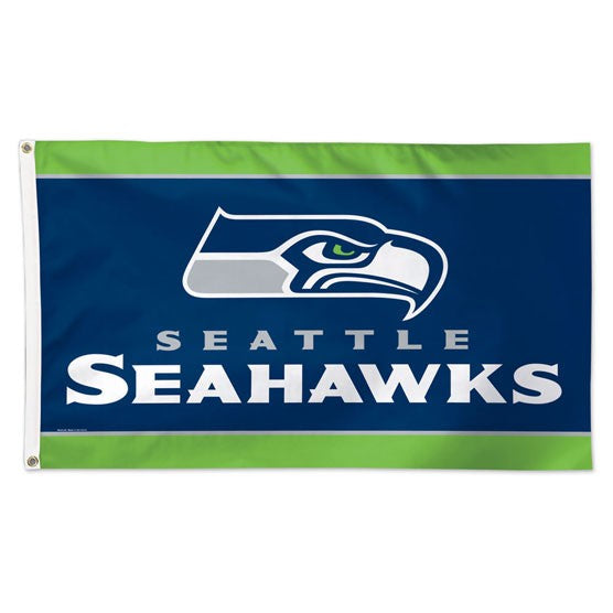 3x5 Seattle Seahawks Team Flag; Polyester H&G