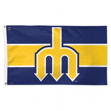 Load image into Gallery viewer, 3x5 Seattle Mariners Cooperstown Retro Team Flag; Polyester H&G