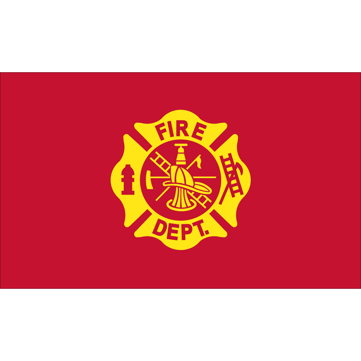 Load image into Gallery viewer, 3x5 Fire Department Outdoor Nylon Flag