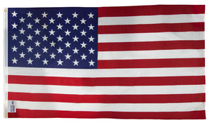 3x5 American Outdoor Printed Poly-Cotton Flag