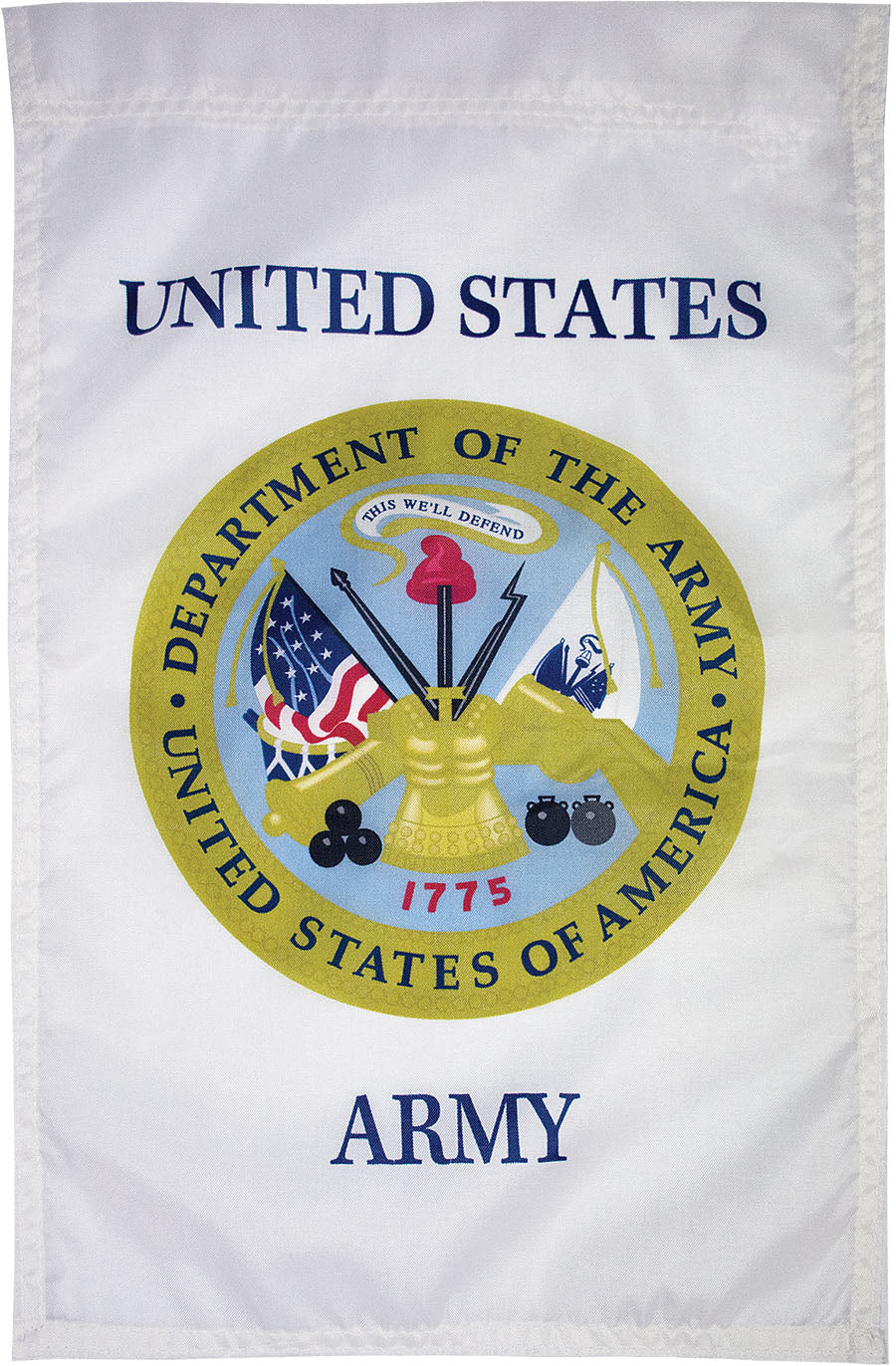 Load image into Gallery viewer, US Army Seal Nylon Garden Flag