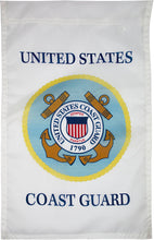 Load image into Gallery viewer, US Coast Guard Seal Nylon Garden Flag