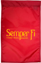 Load image into Gallery viewer, US Marine Corps Semper Fi Nylon Garden Flag