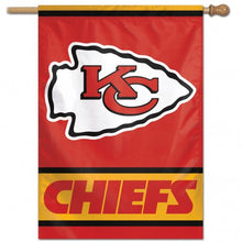"Load image into Gallery viewer, 28""x40"" Kansas City Chiefs House Flag"